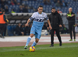 February 26, 2019 - Rome, Italy - Romulo during the Italian Cup football match between SS Lazio and AC Milan at the Olympic Stadium in Rome, on february 26, 2019. (Credit Image: © Silvia Lore/NurPhoto via ZUMA Press)