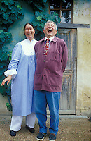 Chef Michel Guerard and his wife, Eugenie