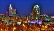 Downtown Raleigh skyline, North Carolina