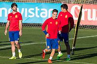 Denis Suarez during the training of Spanish national team under 21 at Ciudad del El futbol  in Madrid, Spain. March 21, 2017. (ALTERPHOTOS / Rodrigo Jimenez)