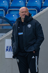 CHESTERFIELD, ENGLAND - Sunday, April 25, 2021: Sheffield United's manager Neil Redfearn during the FA Women's Championship game between Sheffield United FC Women and Liverpool FC Women at the Technique Stadium. Liverpool won 1-0. (Pic by David Rawcliffe/Propaganda)
