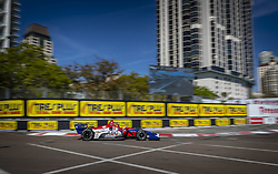 March 8, 2019 - St. Petersburg, Florida, U.S. - TONY KANAAN (14) of Brazil goes through the turns during practice for the Firestone Grand Prix of St. Petersburg at Temporary Waterfront Street Course in St. Petersburg, Florida. (Credit Image: © Walter G Arce Sr Asp Inc/ASP)
