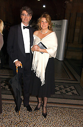 LORD & LADY MANCROFT at a gala dinner in the presence of HM Quenn Silvia of Sweden and HM Queen Noor of Jordan in aid of the charity Mentor held at the Natural History Museum, Cromwell Road, London on 23rd May 2006.<br />