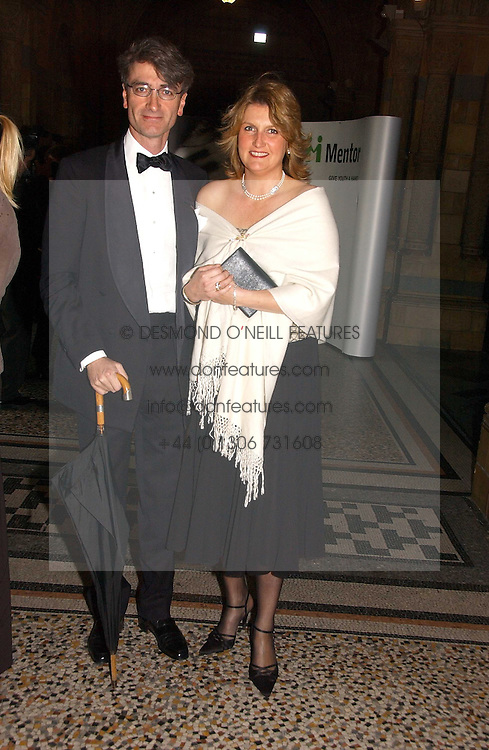 LORD & LADY MANCROFT at a gala dinner in the presence of HM Quenn Silvia of Sweden and HM Queen Noor of Jordan in aid of the charity Mentor held at the Natural History Museum, Cromwell Road, London on 23rd May 2006.<br /><br />NON EXCLUSIVE - WORLD RIGHTS