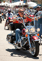 Motorcycle Week on the Boulevard at Weirs Beach June 15, 2012.