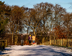 The Penicuik Estate in Midlothian provides some open spaces to be enjoyed without fear of over crowding.