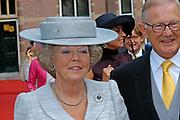 His highness prince Pieter-Christiaan of Oranje Nassau, of Vollenhoven and Ms drs. A.T. van Eijk get married  in the Great or St Jeroens Church in Noordwijk. <br /> <br /> <br /> Zijne Hoogheid Prins Pieter-Christiaan van Oranje-Nassau, van Vollenhoven en mevrouw drs. A.T. van Eijk treden in het (kerkelijk) huwelijk in de Grote St. Jeroenskerk in Noordwijk<br /> <br /> On the photo/Op de foto:<br /> <br /> <br /> <br /> Beatrix