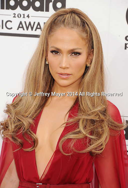 LAS VEGAS, CA- MAY 18: Actress/singer Jennifer Lopez arrives at the 2014 Billboard Music Awards at the MGM Grand Garden Arena on May 18, 2014 in Las Vegas, Nevada.