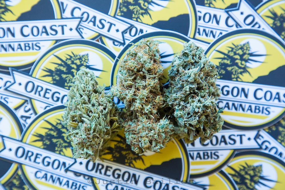 Oregon Coast Cannabis, a marajuana dispensary in Manzanita, Oregon.