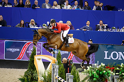 Ward McLain, USA, HH Azur<br /> Round 2<br /> Longines FEI World Cup Jumping, Omaha 2017 <br /> © Hippo Foto - Dirk Caremans<br /> 01/04/2017