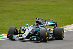 November 11, 2017 - Sao Paulo, Sao Paulo, Brazil - 77 VALTTERI BOTTAS, of Mercedes AMG Petronas, drives during the free training for the Formula One Grand Prix of Brazil at Interlagos circuit, in Sao Paulo, Brazil. The grand prix will be celebrated next Sunday, November 12. (Credit Image: © Paulo Lopes via ZUMA Wire)