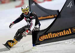10-10-2010 SNOWBOARDEN: LG FIS WORLDCUP: LANDGRAAF<br /> First World Cup parallel slalom of the season / HALDI Roland SUI<br /> ©2010-WWW.FOTOHOOGENDOORN.NL