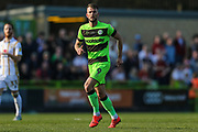 Forest Green Rovers Christian Doidge(9) during the EFL Sky Bet League 2 match between Forest Green Rovers and Milton Keynes Dons at the New Lawn, Forest Green, United Kingdom on 30 March 2019.