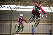 #24 (SHARRAH Corben) USA at the 2014 UCI BMX Supercross World Cup in Manchester.