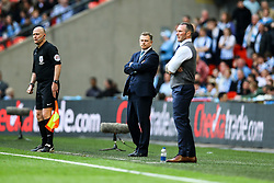 Coventry City manager Mark Robins - Photo mandatory by-line: Jason Brown/JMP -  02/04//2017 - SPORT - Football - London - Wembley Stadium - Coventry City v Oxford United - Checkatrade Trophy Final