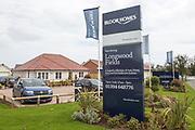 Bloor Homes new Longwood Fields housing development, Woodbridge, Suffolk, England, UK