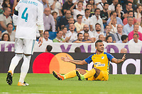 Apoel's Lorenzo Ebecillo during UEFA Champions League match between Real Madrid and Apoel at Santiago Bernabeu Stadium in Madrid, Spain September 13, 2017. (ALTERPHOTOS/Borja B.Hojas)