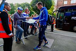 Tom Lockyer of Bristol Rovers arrives at Loftus Road prior to kick off - Mandatory by-line: Ryan Hiscott/JMP - 28/08/2018 - FOOTBALL - Loftus Road - London, England - Queens Park Rangers v Bristol Rovers - Carabao Cup