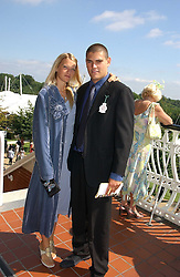 LADY ALEXANDRA GORDON-LENNOX and JULIAN DRAPER at the 3rd day of the Glorious Goodrwood Racing festival 2006 - Ladies Day, at Goodwood Race course, West Sussex on 3rd August 2006.<br /><br />NON EXCLUSIVE - WORLD RIGHTS