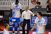 DESCRIZIONE : Pistoia Lega A 2014-2015 Giorgio Tesi Group Pistoia Banco di Sardegna Sassari<br /> GIOCATORE : Stefano Sardara Sanders Rakim<br /> CATEGORIA : Pregame fairplay<br /> SQUADRA : Banco di Sardegna Sassari<br /> EVENTO : Campionato Lega A 2014-2015<br /> GARA : Giorgio Tesi Group Pistoia Banco di Sardegna Sassari<br /> DATA : 20/10/2014<br /> SPORT : Pallacanestro<br /> AUTORE : Agenzia Ciamillo-Castoria/GiulioCiamillo<br /> GALLERIA : Lega Basket A 2014-2015<br /> FOTONOTIZIA : Pistoia Lega A 2014-2015 Giorgio Tesi Group Pistoia Banco di Sardegna Sassari<br /> PREDEFINITA :