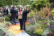 RINGO STARR AND OLIVIA HARRISON, Opening day of the Chelsea Flower Show. Royal Hospital Grounds. London. 19 May 2008 *** Local Caption *** -DO NOT ARCHIVE-© Copyright Photograph by Dafydd Jones. 248 Clapham Rd. London SW9 0PZ. Tel 0207 820 0771. www.dafjones.com.