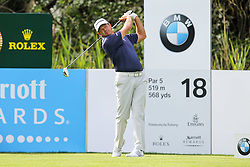 25.06.2015, Golfclub München Eichenried, Muenchen, GER, BMW International Golf Open, Tag 1, im Bild Retief Goosen (RSA) am Abschlag, Tee // during day one of the BMW International Golf Open at the Golfclub München Eichenried in Muenchen, Germany on 2015/06/25. EXPA Pictures © 2015, PhotoCredit: EXPA/ Eibner-Pressefoto/ Kolbert<br /> <br /> *****ATTENTION - OUT of GER*****