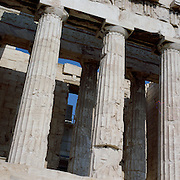 A panoramic view of the Acropolis in Athens, Greece 23rd July 2011. Photo Tim Clayton