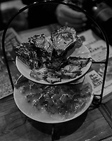 Japanese Dinner after the Walkabout in Shinjuku -- Looking for a Photography Theme. Image taken with a Leica CL camera and 23 mm f/2 lens.