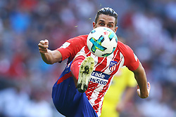 August 1, 2017 - Munich, Germany - Koke of Atletico de Madrid durign the first Audi Cup football match between Atletico Madrid and SSC Napoli in the stadium in Munich, southern Germany, on August 1, 2017. (Credit Image: © Matteo Ciambelli/NurPhoto via ZUMA Press)