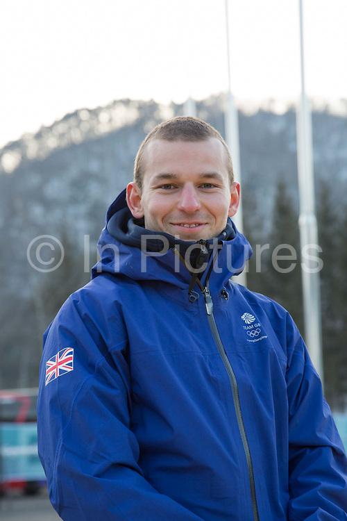 Freeskier Murray Buchan, Great Britain, at the Pyeongchang athlete village on February 16th 2018 in Pyeongchang-gun, South Korea.