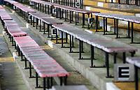 A general view of Kenilworth Road, home of Luton Town<br /> <br /> Photographer Alex Dodd/CameraSport<br /> <br /> The EFL Sky Bet Championship - 191123 Luton Town v Leeds United - Saturday 23rd November 2019 - Kenilworth Road - Luton<br /> <br /> World Copyright © 2019 CameraSport. All rights reserved. 43 Linden Ave. Countesthorpe. Leicester. England. LE8 5PG - Tel: +44 (0) 116 277 4147 - admin@camerasport.com - www.camerasport.com
