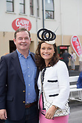 29/07/2017  Siblings Vincent Hughes Westport and Cathy Hughes Galway  on Plate day of the Galway Races.   Photo:Andrew Downes, xposure