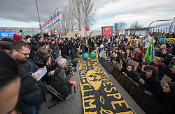 13 December 2019, Madrid, Spain: As COP25 is about to draw to a close, hundreds of young people mobilize through Fridays for Future in a strike for the climate, inside and outside the venue of COP25 in Madrid, calling for urgent action for climate justice.