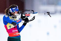 March 8, 2019 - –Stersund, Sweden - 190308 Lisa Vittozzi of Italy during warm up ahead of the Women's 7.5 KM sprint during the IBU World Championships Biathlon on March 8, 2019 in Östersund..Photo: Petter Arvidson / BILDBYRÃ…N / kod PA / 92247 (Credit Image: © Petter Arvidson/Bildbyran via ZUMA Press)