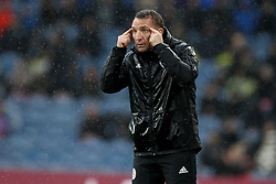 March 16, 2019 - Burnley, Lancashire, United Kingdom - BURNLEY, UK 16TH MARCH Brendan Rodgers the Leicester City manager during the Premier League match between Burnley and Leicester City at Turf Moor, Burnley on Saturday 16th March 2019. (Credit: Mark Fletcher   MI News) (Credit Image: © Mi News/NurPhoto via ZUMA Press)