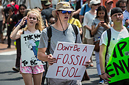 April 29, 2017, People's Climate March in Washignton D.C.