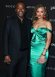 LOS ANGELES, CA, USA - NOVEMBER 03: 2018 LACMA Art + Film Gala held at the Los Angeles County Museum of Art on November 3, 2018 in Los Angeles, California, United States. 03 Nov 2018 Pictured: Lee Daniels, Andra Day. Photo credit: Xavier Collin/Image Press Agency/MEGA TheMegaAgency.com +1 888 505 6342