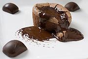 Volcano Chocolate cake