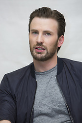March 31, 2017 - Hollywood, California, U.S. - CHRIS EVANS promotes 'Gifted' Christopher Robert 'Chris' Evans (born June 13, 1981) is an American actor and filmmaker. Evans is known for his superhero roles as the Marvel Comics characters Captain America in the Marvel Cinematic Universe and the Human Torch in Fantastic Four and its 2007 sequel. He began his career on the 2000 television series Opposite Sex, and has since appeared in a number of films, such as Not Another Teen Movie, Sunshine, Scott Pilgrim vs. the World, Snowpiercer and the upcoming Gifted. In 2014, Evans made his directorial debut with the drama film Before We Go, in which he also starred. Avengers: Infinity War (filming), Jekyll (announced), Gifted (2017). (Credit Image: © Armando Gallo via ZUMA Studio)