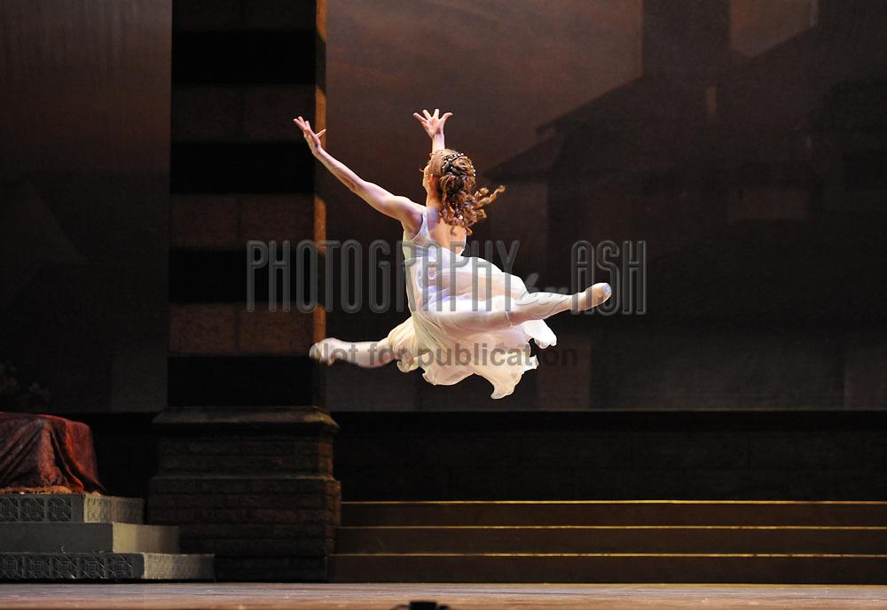 Daria Klimentová, principal dancer perform in English National Ballet's Romeo & Juliet, choreographed by Rudolf Nureyev, October 13, 2010. Photo: Amber Hunt