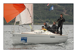 Sailing - The 2007 Bell Lawrie Scottish Series hosted by the Clyde Cruising Club, Tarbert, Loch Fyne..The third days racing on Loch Fyne with a mix of weather from the North and West...GBR 2147C Seone CYCA 8 .