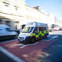 Ambulance, Edinburgh 2012