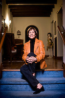 Kathy Hirsh-Pasek is a professor of pshycology at Temple University and the director of the school's Infant Language Labratory. She was pictured at her home in Ardmore, Pa., on Tuesday, Oct. 9, 2007.