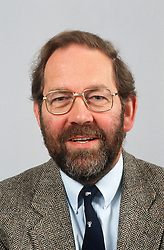 Portrait of man with beard wearing suit and tie,