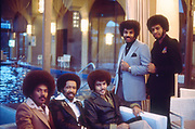 The Chi-lites photographed in London 1979