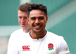 Denny Solomona of England takes part in training at Twickenham ahead of the upcoming tour of Argentina - Mandatory by-line: Robbie Stephenson/JMP - 02/06/2017 - RUGBY - Twickenham - London, England - England Rugby Training