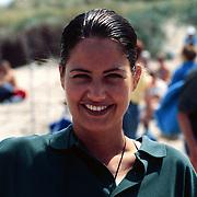 Sterrenslag 1996 Texel, Marisca Hulscher tennisend