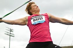 adidas Grand Prix Diamond League professional track & field meet: womens javelin throw, Martina RATEJ, Slovania