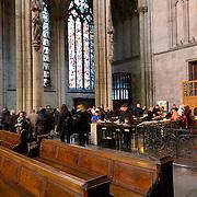Cologne Cathedral Koelner Dom Inside in Germany
