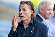 Wycombe Wanderers manager Gareth Ainsworth during the EFL Sky Bet League 1 match between Oxford United and Wycombe Wanderers at the Kassam Stadium, Oxford, England on 30 March 2019.